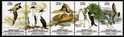 Regional Wildlife,Australian Antarctic Division,Antartica,Antartic,AAT,FDC,FDC's,First Day Cover,First Day Cover,Stamp Collecting,Australian Antarctic Territory,Mawson,Davis,Heard Island,Macquarie Island,Australian Postal History,First Day Covers,Australian First Day Covers