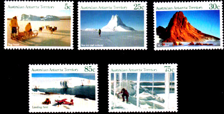 Antarctic Scenes Series 1 Definitives,Antartica,AAT,Antartic,FDC,FDC's,First Day Cover, First Day Cover,Stamp Collecting, Australian Antarctic Territory