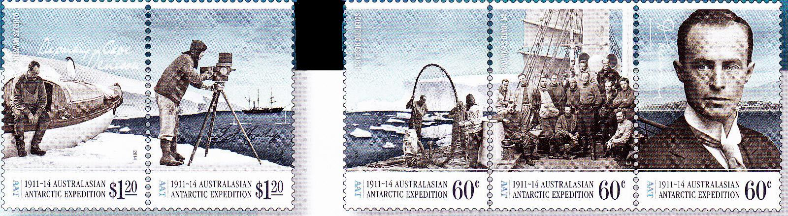 1911-1914 AUSTRALASIAN EXPEDITION, Australian Antarctic Division,Antartica,Antartic,AAT,FDC,FDC's,First Day Cover,First Day Cover,Antartic base first day covers,AAT Base Covers,Stamp Collecting,Australian Antarctic Territory,Mawson,Davis,Heard Island,Macquarie Island,Australian Postal History,First Day Covers,Australian First Day Covers