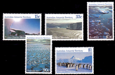 Antarctic Scenes<br>Series 2 Definitives,Australian Antarctic Division,Antartica,Antartic,AAT,FDC,FDC's,First Day Cover,First Day Cover,Stamp Collecting,Australian Antarctic Territory,Mawson,Davis,Heard Island,Macquarie Island,Australian Postal History,First Day Covers,Australian First Day Covers