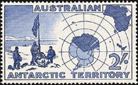 Map Definitive,Australian Antarctic Division,Antartica,Antartic,AAT,FDC,FDC's,First Day Cover,First Day Cover,Stamp Collecting,Australian Antarctic Territory,Mawson,Davis,Heard Island,Macquarie Island,Australian Postal History,First Day Covers,Australian First Day Covers