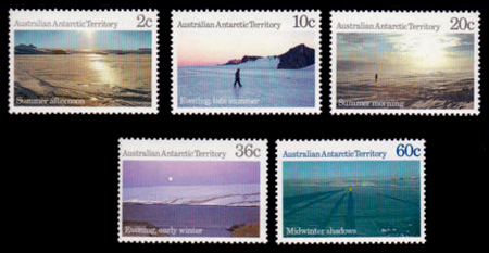 Antarctic Scenes Series 3 Definitives,Australian Antarctic Division,Antartica,Antartic,AAT,FDC,FDC's,First Day Cover,First Day Cover,Stamp Collecting,Australian Antarctic Territory,Mawson,Davis,Heard Island,Macquarie Island,Australian Postal History,First Day Covers,Australian First Day Covers