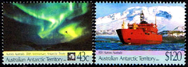 30th.Anniversary of the Antarctic Treaty and The Maiden Voyage of RSV Aurora Australis,Australian Antarctic Division,Antartica,Antartic,AAT,FDC,FDC's,First Day Cover,First Day Cover,Stamp Collecting,Australian Antarctic Territory,Mawson,Davis,Heard Island,Macquarie Island,Australian Postal History,First Day Covers,Australian First Day Covers