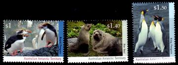 Antarctic Regional Wildlife Definitives Part 2,Australian Antarctic Division,Antartica,Antartic,AAT,FDC,FDC's,First Day Cover,First Day Cover,Stamp Collecting,Australian Antarctic Territory,Mawson,Davis,Heard Island,Macquarie Island,Australian Postal History,First Day Covers,Australian First Day Covers