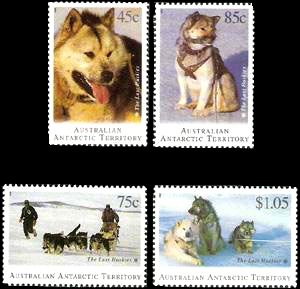 The Last Huskies,Australian Antarctic Division,Antartica,Antartic,AAT,FDC,FDC's,First Day Cover,First Day Cover,Stamp Collecting,Australian Antarctic Territory,Mawson,Davis,Heard Island,Macquarie Island,Australian Postal History,First Day Covers,Australian First Day Covers
