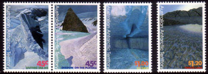 Antarctic Landscapes,Australian Antarctic Division,Antartica,Antartic,AAT,FDC,FDC's,First Day Cover,First Day Cover,Stamp Collecting,Australian Antarctic Territory,Mawson,Davis,Heard Island,Macquarie Island,Australian Postal History,First Day Covers,Australian First Day Covers