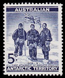1st.Attainment of the South Magnetic Pole,Australian Antarctic Division,Antartica,Antartic,AAT,FDC,FDC's,First Day Cover,First Day Cover,Stamp Collecting,Australian Antarctic Territory,Mawson,Davis,Heard Island,Macquarie Island,Australian Postal History,First Day Covers,Australian First Day Covers