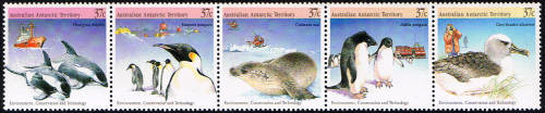 Environment, Conservation and Technology,Australian Antarctic Division,Antartica,Antartic,AAT,FDC,FDC's,First Day Cover,First Day Cover,Stamp Collecting,Australian Antarctic Territory,Mawson,Davis,Heard Island,Macquarie Island,Australian Postal History,First Day Covers,Australian First Day Covers