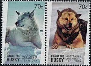 ERA OF THE HUSKY, Australian Antarctic Division,Antartica,Antartic,AAT,FDC,FDC's,First Day Cover,First Day Cover,Antartic base first day covers,AAT Base Covers,Stamp Collecting,Australian Antarctic Territory,Mawson,Davis,Heard Island,Macquarie Island,Australian Postal History,First Day Covers,Australian First Day Covers
