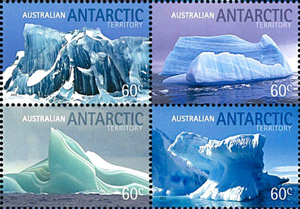 AAT LANDSCAPES .. ICEBERGS, Australian Antarctic Division,Antartica,Antartic,AAT,FDC,FDC's,First Day Cover,First Day Cover,Antartic base first day covers,AAT Base Covers,Stamp Collecting,Australian Antarctic Territory,Mawson,Davis,Heard Island,Macquarie Island,Australian Postal History,First Day Covers,Australian First Day Covers