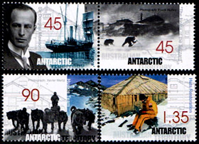 Mawson's Huts,Australian Antarctic Division,Antartica,Antartic,AAT,FDC,FDC's,First Day Cover,First Day Cover,Stamp Collecting,Australian Antarctic Territory,Mawson,Davis,Heard Island,Macquarie Island,Australian Postal History,First Day Covers,Australian First Day Covers