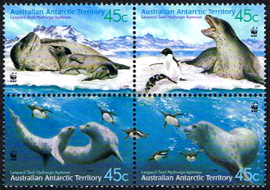 Leopard Seals,Australian Antarctic Division,Antartica,Antartic,AAT,FDC,FDC's,First Day Cover,First Day Cover,Antartic base first day covers,AAT Base Covers,Stamp Collecting,Australian Antarctic Territory,Mawson,Davis,Heard Island,Macquarie Island,Australian Postal History,First Day Covers,Australian First Day Covers